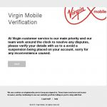 Cybersquatting Nom Domaine pour un Phishing contre Virgin Mobile