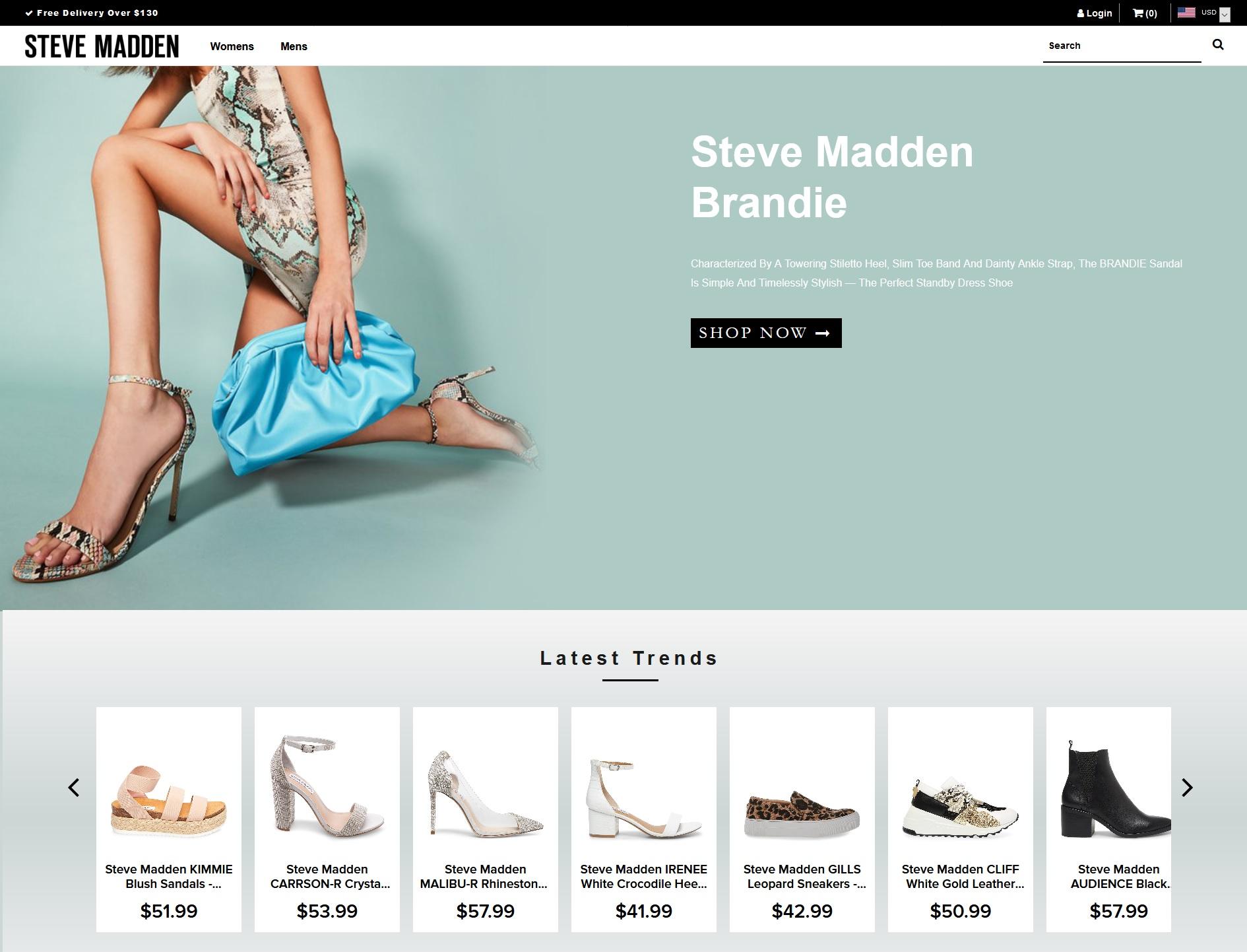 Cybersquatting Chaussures Steve Madden
