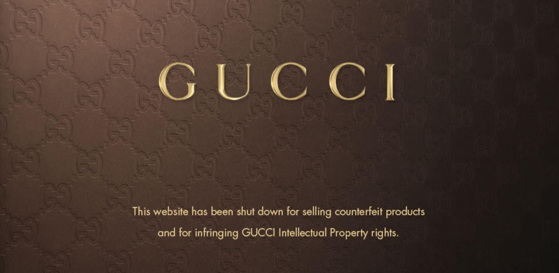 Anti Contrefaçon Gucci